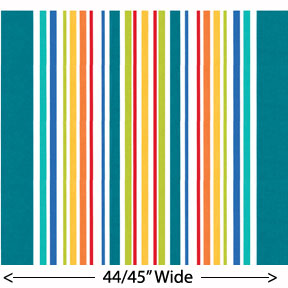 """Big Stripe"" by Michael Miller Fabrics"
